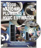 National Plumbing & Hvac Estimator 2008 by James A. Thomson (Craftsman Book Co)