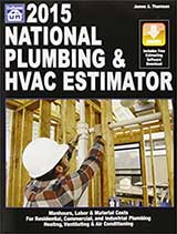 National Plumbing & Hvac Estimator 2015 by James A. Thomson (Craftsman Book Co)