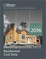 RSMeans Residential Cost Data 2016
