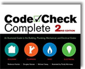 Code Check Complete 2nd Edition: An Illustrated Guide to the Building, Plumbing, Mechanical, and Electrical Codes by Redwood Kardon, Michael Casey, Douglas Hanson