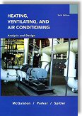 Heating, Ventilating and Air Conditioning: Analysis and Design, 6th Edition