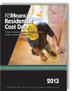 RS Means - Residential Cost Data 2013: Square Foot Costs, Systems Cost, Unit Costs (32nd Edition)