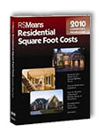 Means Contractor's Pricing Guide: Residential Square Foot Costs 2010 (16th Edition)