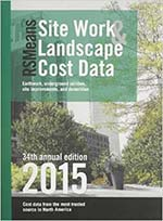 RSMeans Site Work & Landscape Cost Data 2015