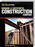 Running a Successful Construction Company by David Gerstel
