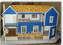 Scale model house building kits