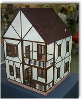 Miniature model houses built