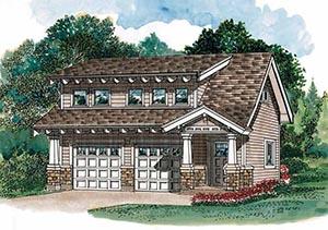 Floorplans for Garages with Living Space - Just Garage Plans