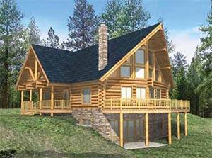 Log Cabin Plans, Log House Plans and Blueprints