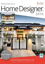 Chief Architect Home Designer Landscape and Deck 2014
