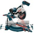 Bosch 5412L 12-Inch Dual Bevel Slide Miter Saw with Laser Tracking