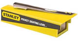 Stanley 77-187 PL1 Pocket Site Hand Held Optical Level with Stadia