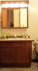 Standard height bath vanity
