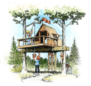 Children's Play Areas – B4UBUILD on 2 story fort plans, raised patio plans, raised sandbox plans, raised garage, monitor barn plans, raised barn plans, raised playground plans, raised garden plans, elevated clubhouse plans, ladder treehouse plans, pirate tree house plans, raised house plans, raised planter plans, raised deck plans,