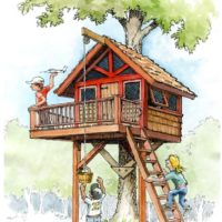 Kid's Treehouse Plans