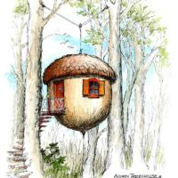 Acorn Treehouse Plans
