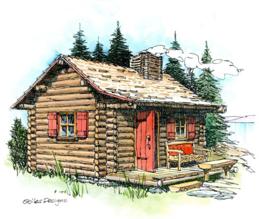 Tiny Log Cabin Plans