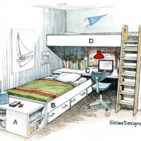 Five Easy Pieces Bunk Bed Plans