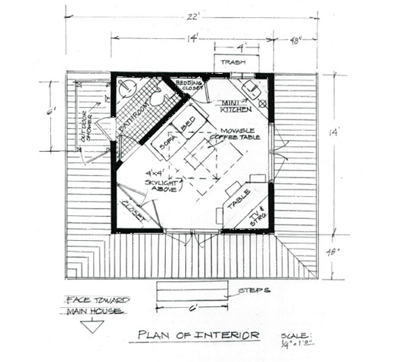 34+ Small Backyard Guest House Plans Pictures - HomeLooker